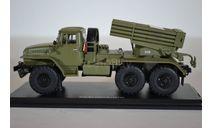 БМ-21 Град (375), хаки, масштабная модель, Start Scale Models (SSM), 1:43, 1/43