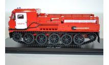 Артиллерийский гусеничный тягач АТС-59Г, пожарный г. Тольятти, масштабная модель, Start Scale Models (SSM), 1:43, 1/43