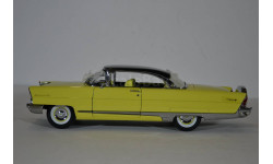Lincoln Premiere 1956 черный с желтым, масштабная модель, Sunstar, 1:43, 1/43
