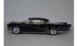 Buick Limited Riviera Coupe 1958 черный, масштабная модель, Sunstar, scale18