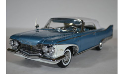 Plymouth Fury Closed Convertible 1960 (Convertible WhiteTwilight Blue Metallic), масштабная модель, 1:18, 1/18
