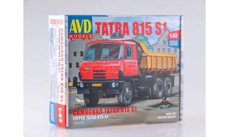 Сборная модель Tatra-815S1 самосвал, сборная модель автомобиля, AVD для SSM, 1:43, 1/43