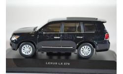 Lexus LX570 2009 черный металлик