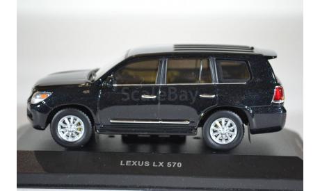 Lexus LX570 2009 черный металлик, масштабная модель, IXO VVM, 1:43, 1/43
