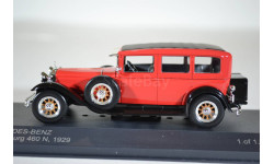 MERCEDES-BENZ Typ 460 N Nurburg 1929 RedBlack