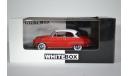 SIMCA Aronde Grand Large 1953 красныйбелый, масштабная модель, WhiteBox, 1:43, 1/43