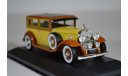 Cadillac V16 LWB Imperial Sedan, yellowbrown 1930, масштабная модель, WhiteBox, 1:43, 1/43