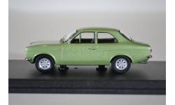 FORD Escort 1300GT 1969 зеленый мет, масштабная модель, WhiteBox, 1:43, 1/43