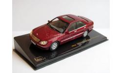 Mercedes-Benz S500 W220 вишнёвый IXO 1:43 MOC106