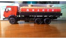 КамАЗ-53212 молоковоз, масштабная модель, Элекон, 1:43, 1/43