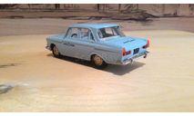 Москвич 408 «такси», масштабная модель, Агат/Моссар/Тантал, scale43