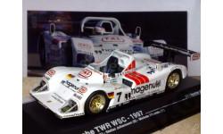 1:43 Porsche TWR WSC #7 24h LeMans 1997 / IXO, масштабная модель, 1/43, IXO Le-Mans (серии LM, LMM, LMC, GTM)