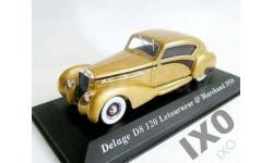 1:43 Delage D8 120 1939 / IXO ALTAYA, масштабная модель, IXO/ Altaya, scale43