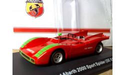 1:43 Fiat Abarth 2000 Sport Spider (SE019) / METRO, масштабная модель, 1/43