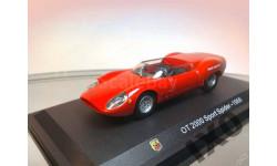 1:43 Fiat Abarth OT 2000 Sport Spider 1966 METRO, масштабная модель, 1/43
