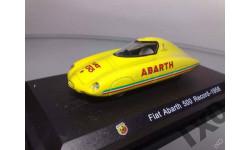1:43 Fiat Abarth 500 Record 1958 METRO, масштабная модель, 1/43