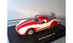 1:43 Fiat Turbina Prototipo Record 1954 #2 METRO, масштабная модель, 1/43