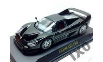 1:43 Ferrari F50 1995 черный / IXO Altaya, масштабная модель, 1/43