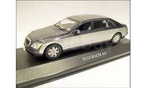 1:43 MAYBACH 62, масштабная модель, IXO Altaya, Mercedes-Benz, scale43