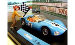 1/43 Michel Vaillant Vaillante Le Mans '61 DIORAMA