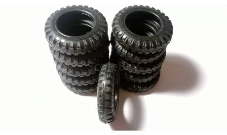 Элекон. Резина КамАЗ 5320. 1 комплект - 11 штук, масштабная модель, 1:43, 1/43
