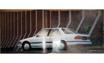 Honda Accord CA - Японский каталог, 18 стр. +Вкладки, литература по моделизму