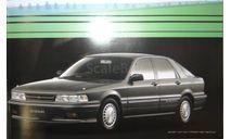 Mitsubishi E32 Galant + Eterna  - Японский каталог 15стр.+ 7стр., литература по моделизму