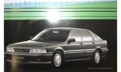 Mitsubishi E32 Galant + Eterna  - Японский каталог 15стр.+ 7стр.