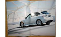 Subaru Impreza GH - Японский каталог, 42стр. +вкладка 7стр., литература по моделизму