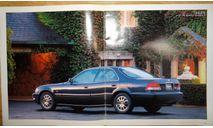 Honda Inspire UA - Японский каталог, 28 стр., литература по моделизму