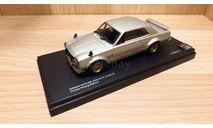 СПЕЦЦЕНА!!! Nissan Skyline 2000 GT-R (KPGC10) Private Racing Edition (Silver) 1/43 Kyosho, масштабная модель, 1:43