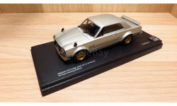 СПЕЦЦЕНА!!! Nissan Skyline 2000 GT-R (KPGC10) Private Racing Edition (Silver) 1/43 Kyosho