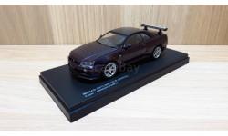СКИДКА!!! NIssan Syline GT-R (BNR34) V-spec (Midnight Purple) 1/43 Kyosho, масштабная модель, scale43