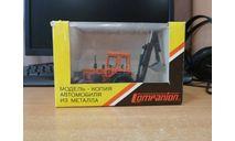 МТЗ-82 эксковатор. Компаньон. Металл, масштабная модель трактора, scale43