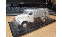 Газ-51 мусоровоз, масштабная модель, Автомобиль на службе, журнал от Deagostini, scale43
