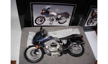 1/10 модель мотоцикл BMW R 100 RS Schuco металл 1:10, масштабная модель мотоцикла, scale10