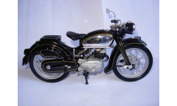 1/10 модель мотоцикла NSU MAX Super Lux Schuco металл 1:10, масштабная модель мотоцикла