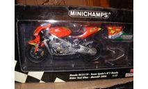 модель 1/12 гоночный мотоцикл Honda RC211V Team Spain's #1 Toni Elias #24 Moto-GP 2006 Minichamps 1:12, масштабная модель мотоцикла, scale12