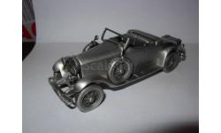 модель-скульптура 1/43 Lincoln Sportster 1927 Danbury Mint pewter - олово