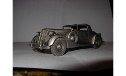 модель-скульптура 1/43 Packard Coupe 1937 Danbury Mint pewter - олово