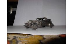 модель-скульптура 1/43 Chrysler Roadster 1932 Danbury Mint pewter - олово