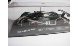 модель 1/43 Bentley EXP8 #8 24 h. Le Mans 2001 металл, масштабная модель, 1:43