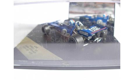 модель 1/43 F1 Formula1 Tyrrell 002 #12 Francois Sever GP Monaco 1971 Quartzo металл 1:43, масштабная модель, scale43