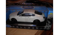 модель 1:18 Bentley Continental Supersports Coupe Welly