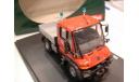 модель 1/43 Schuco Mercedes Benz Unimog U300 пожарный FFW Sturrgart металл, масштабная модель, 1:43, Mercedes-Benz