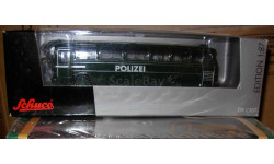 модель полицейского автобуса Mercedes Benz O303 Schuco 1/87 H0 металл