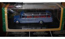 модель автобуса 1/76 Borgward BO 4000 1952 Atlas металл, масштабная модель