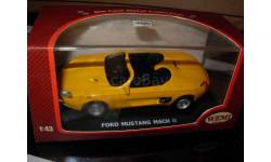 модель 1/43 Ford Mustang Mach III concept-car Wemi металл