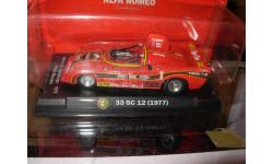 модель 1/43 Alfa Romeo 33 SC 12 1977 металл