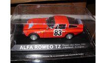 модель 1/43 Alfa Romeo TZ 1964 металл, масштабная модель, 1:43